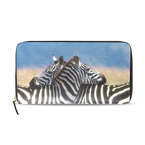 Womens Wallets Zebras Love Leather Passport Wallet for sale  Delivered anywhere in USA