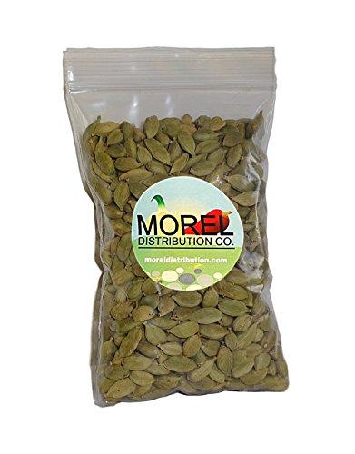 Whole Cardamom Pods/Seeds (Cardamomo) (1 oz, 2 oz, 4 oz, 6 oz, 8 oz, 12 oz, 1 lb, 2 lbs) (4 OZ) by Morel Distribution Company (Image #1)