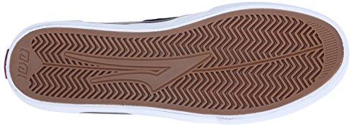 Lakai - Zapatillas de skateboarding de Ante para hombre negro Black/Walnut 44