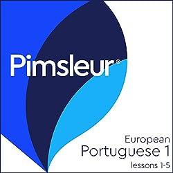 Pimsleur Portuguese (European) Level 1, Lessons 1-5