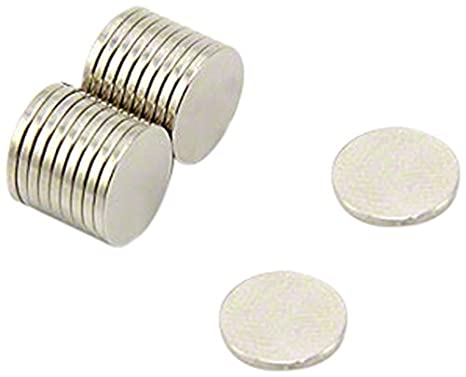Pack of 50 3mm dia x 1.5mm thick N35 Neodymium Magnet 0.18kg Pull