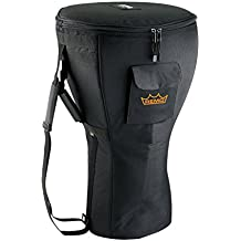 "Remo Djembe Bag 14"" Deluxe Black with Shoulder Strap"
