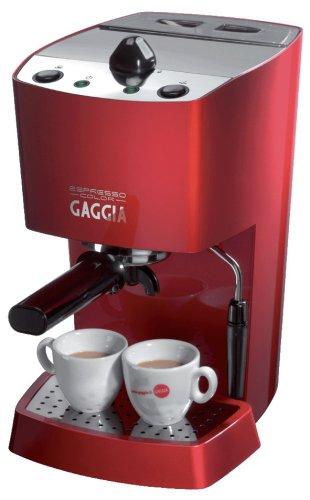Gaggia Espresso Color, Rojo, 1100 W, 230 - Máquina de café: Amazon.es: Hogar