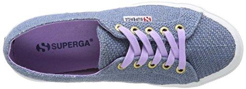 Superga 2750 Jutau - Zapatillas de lona para mujer Bleu (A07A Avio)