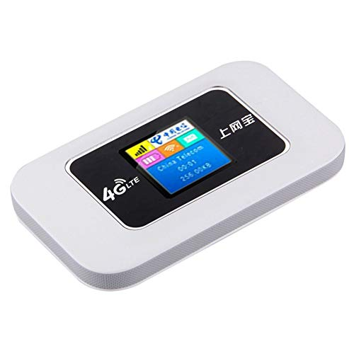 Mini 3G/4G Wireless Mobile WiFi Router, IEEE 802.11.B/G/N, 4G (2100/1800Mhz) for Car-LCD Display