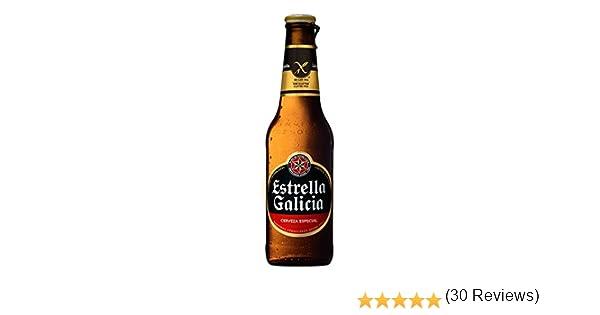 Cerveza Estrella Galicia Sin Gluten-24Unidades de 33Cl (Especial Celíacos): Amazon.es: Alimentación y bebidas