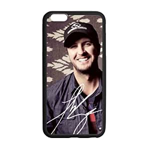 Classic Style Custom Silicone Hard Rubber Protector Case for iPhone6(4.7inch) - Luke Bryan