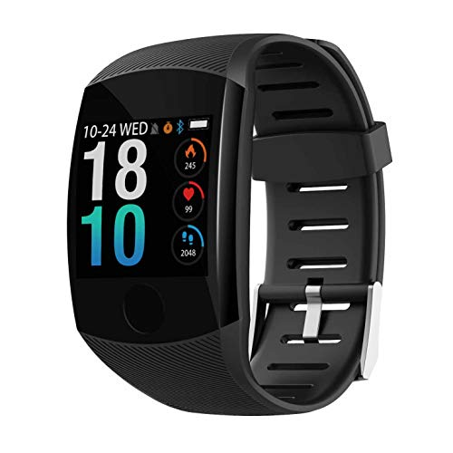 Jarhit Q11 Smart Watch Waterproof Fitness Bracelet Big Press Screen Message Remind Heart Rate Time Smartband Activity…