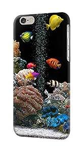 LJF phone case S0226 Aquarium Case Cover for iphone 6 plus 5.5 inch