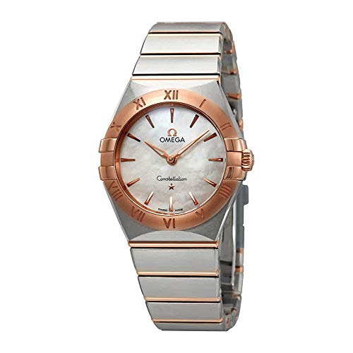 Omega Constellation Manhattan Mother of Pearl Dial Ladies Watch 131.20.28.60.05.001