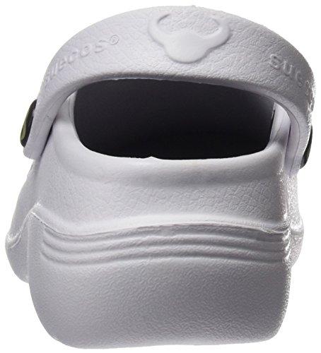Nordic Bianco Suecos White 01 da Lavoro Adulto Unisex Zoccoli wd6vqd1