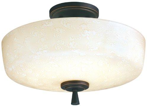 Lithonia Lighting 11530 BZA M4 Ferros Energy Star Flush/Semi-Flush Indoor Light, Antique (Ferros Energy Star Lighting)