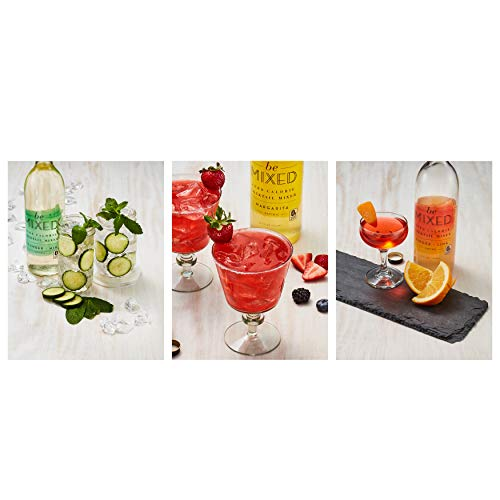 Zero Calorie Cocktail Mixer Variety Pack by Be Mixed | Low