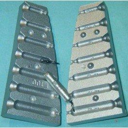 Molde de plomo forma DROP SHOT 1. 8-3,5-5-7-10-14-18-MOU100 N12: Amazon.es: Deportes y aire libre