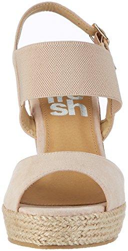 Refresh 63575, Sandalias con Plataforma para Mujer Beige (Nude)