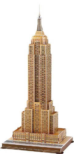 3D three-dimensional puzzle Empire State Building (japan (USA) (japan Building import) 746813