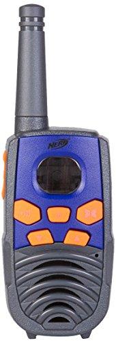 Vivitar 37756 Nerf 10 Mile Walkie Talkie Set, Black and Purple