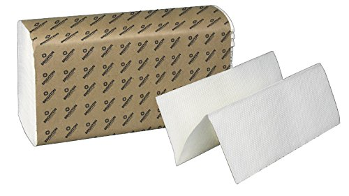 Brighton Professional Multifold Paper Towels, White, 1-Ply, 4,000/Case ()