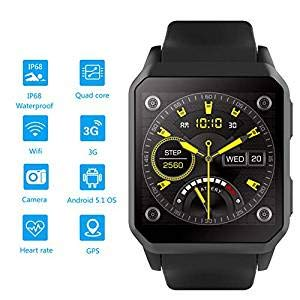 Amazon.com: AW-SJ Smart Watch Support 3G WI-FI GPS Android ...