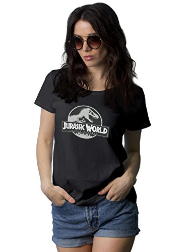 Buy now Black Womens Jurassic World Fallen Kingdom T Shirt Short Sleeve   Jurassic World, M