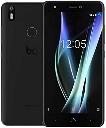 bq Aquaris X Dual SIM 4G 64GB Black: Bq: Amazon.es: Electrónica