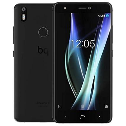bq Aquaris X Dual SIM 4G 64GB Black - Smartphone (13,2 cm (