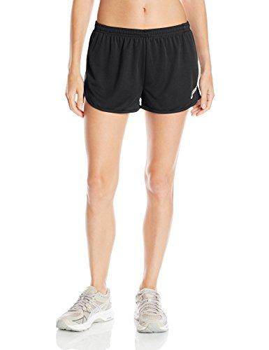 ASICS Women's Rival Ii 1/2 Split Shorts, Black, ()