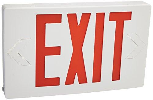 eTopLighting LED Exit Sign Emergency Light Lighting, Emergency LED Light/Battery Back-up/Red Letter (3.6v Emergency Lighting Battery)