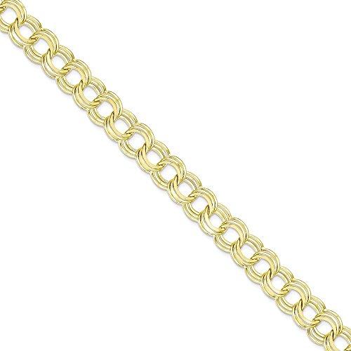 Icecarats Créatrice De Bijoux 10K Triple Lien Bracelet De Charme