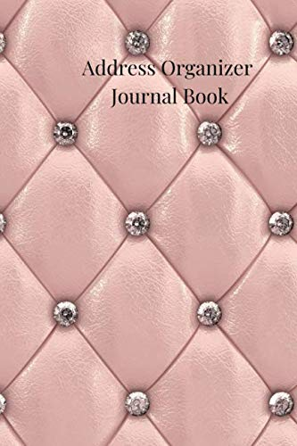 Address Organizer Journal Book: A Rose Marble Gold Alphabetical Small Pocket Address Log and Phone Notebook to Record Contact Names, Birthdays, Phone ... and Emails for organization and Information.