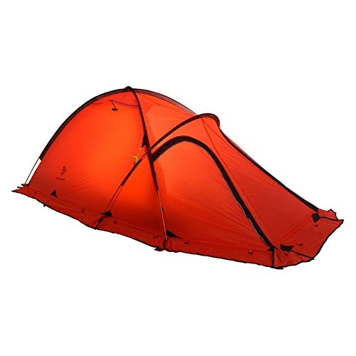 HILLMAN 2-Person 4-Season 20D Double Layer Silicone Ultralight High-altitude Outdoor Camping Tents (Red)