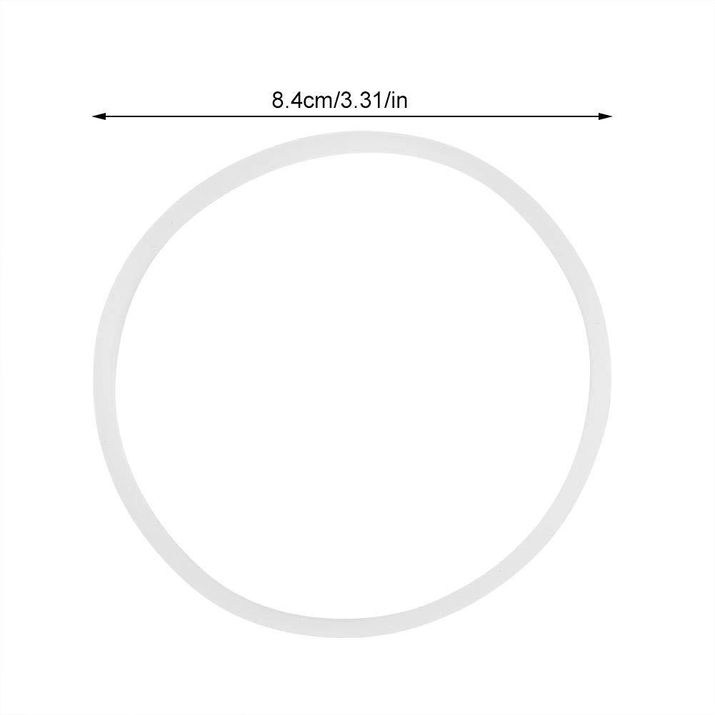 6PCS Duokon 6 Piezas Nuevas Juntas de Repuesto Anillo de Sello de Goma Piezas de Repuesto de Cocina con Junta t/órica Blanca Flexible para Magic Bullet Flat Cross Blade