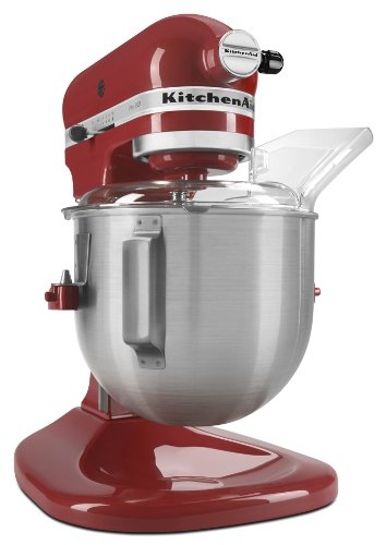 KitchenAid KSM500PSER Pro 500 Series 10-Speed 5-Quart Stand Mixer, Empire Red
