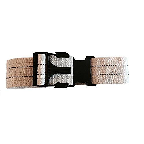 MTS SafetySure Pinstripe Gait Belt with Plastic Buckle, 54