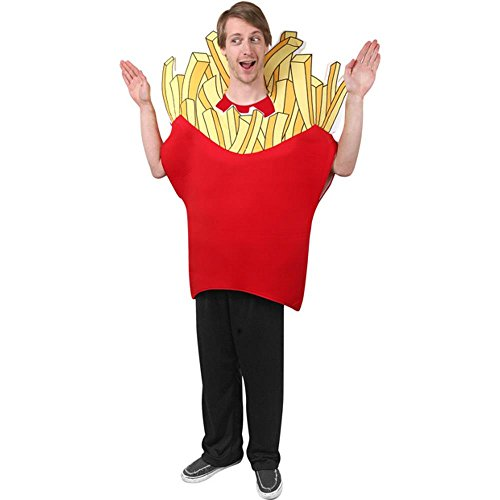 French Fry Costume Kid (Adult French Fry Halloween)