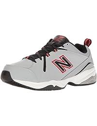 Men's MX608v4 Training Shoe, Grey/Red, 7 4E US