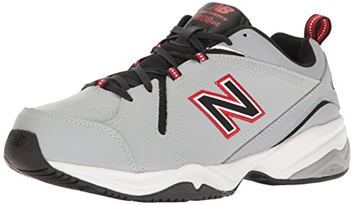 MX608V4 New Balance Training Red Shoe Men's Grey PPBaTRx