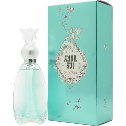 Anna Sui Secret Wish Eau de Toilette Spray for Women, 2.5 Ounce - Sui Anna Parfum