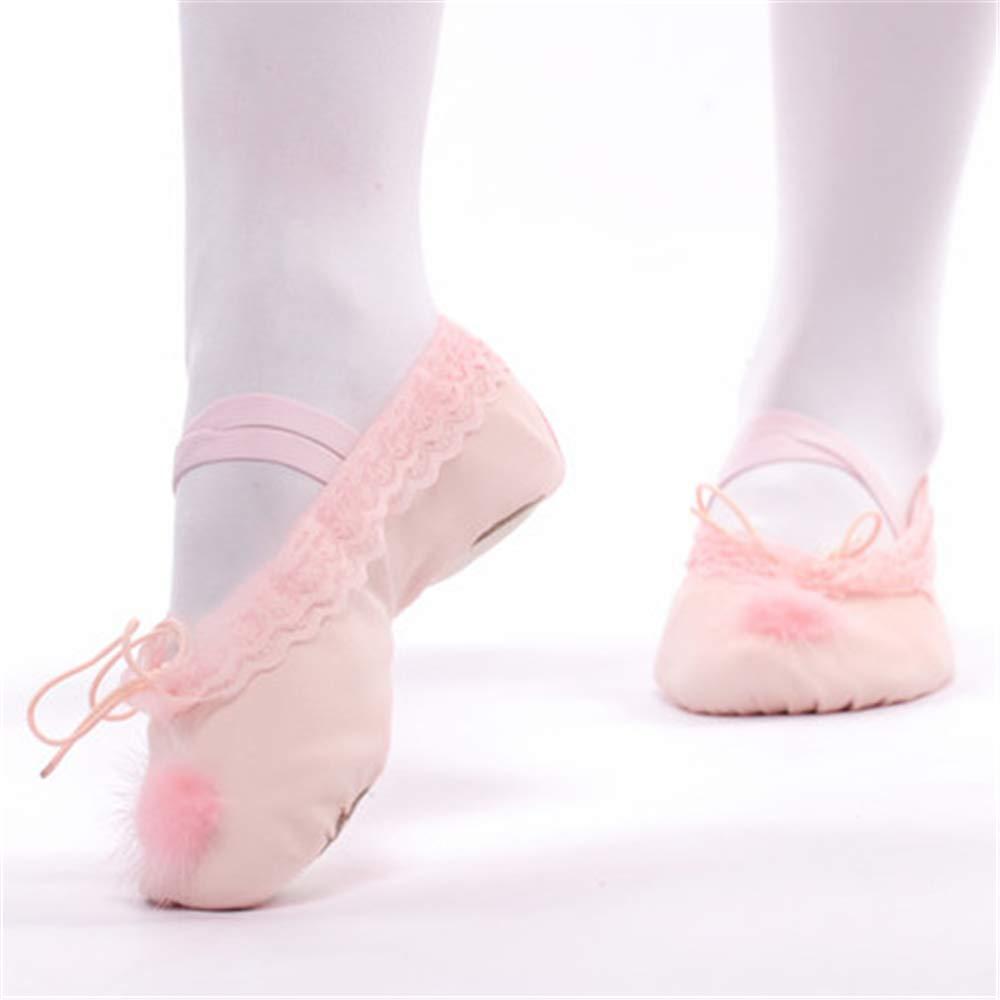 satisfied Girls Ballet Practice Shoes Slipper//Ballet Shoe//Yoga Dance Shoe