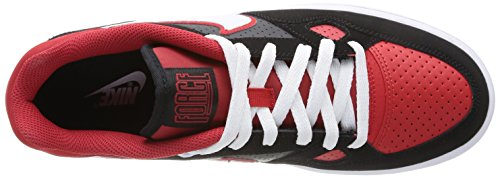 Calzatura of Nike Force Red Son black University White R7HqxtCHw