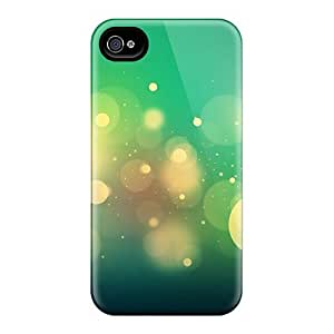 MVr17052FXCj Snap On Cases Covers Skin Iphone 5C (green Bubbles)