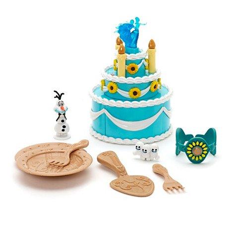 Set de juego tarta cumpleaños Anna Frozen Fever: Amazon.es ...