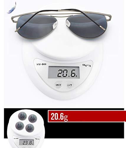 B De Antirreflejante para con De Sol UV400 B Y Lente Hombre Completo Gafas Retro Diseño para Moda Aili Mujer UxnqHzR5