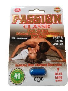 Passion Classic Fast Acting Sexual Libido Enhancer for Men Single