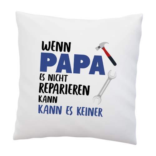 Liebtastisch Cojín con Texto en alemán Wenn Papa es Nicht ...