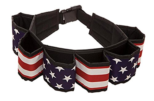 USA Flag Americana Beverage Utility Six Pack - Beverage Cowboys
