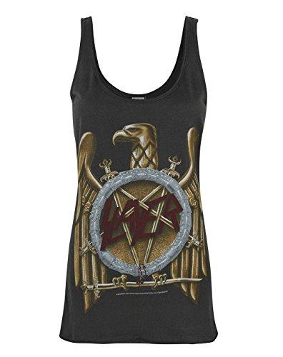 Amplified Slayer Eagle Logo Women's Vest (XS)