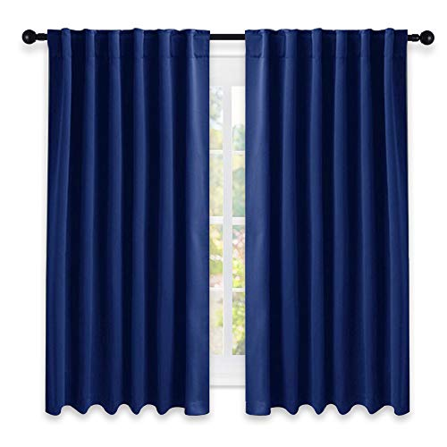 "NICETOWN Blackout Draperies Curtains Window Drapes -  52"" W"