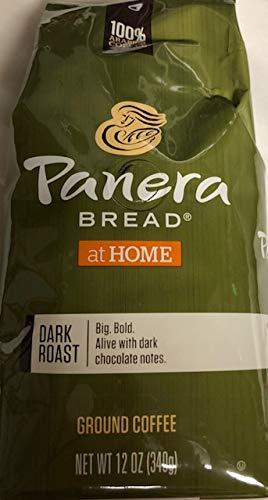Panera Bread Coffee, Dark Roast, 12 Ounce