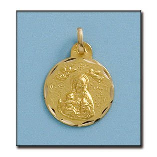 Médaille D'or 18kt V. Cinta 17mm